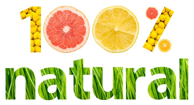 all natural sign of fruits