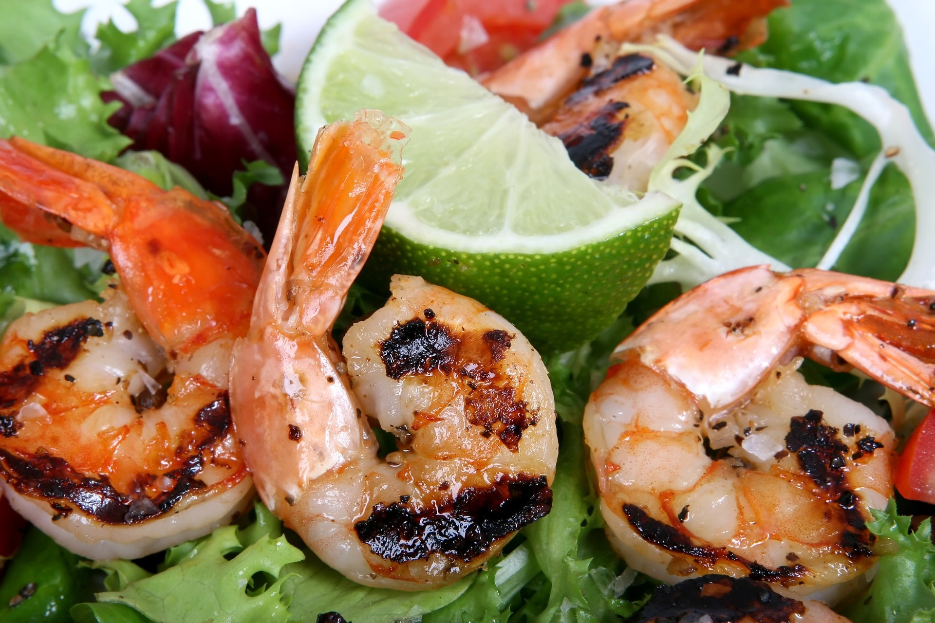 asian-barebeque-with-shrimp-on-plate