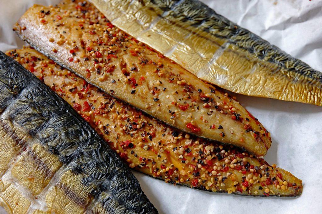 cooked mackerel